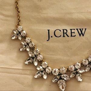 J. Crew diamond statement necklace